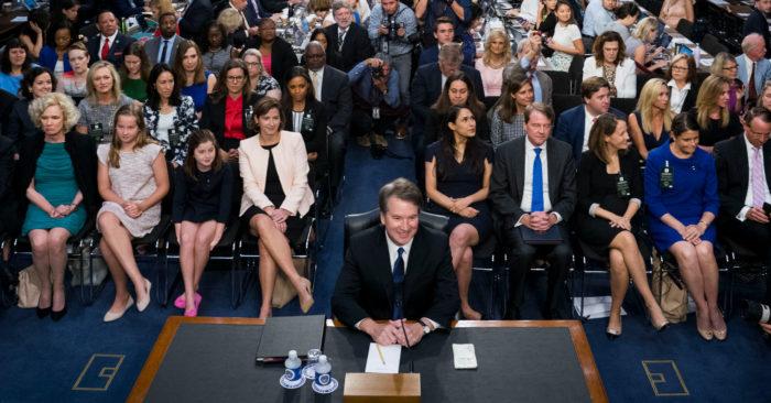 Demócratas Intentan Boicotear La Confirmación Del Juez Kavanaugh Como Magistrado Del Tribunal Supremo.