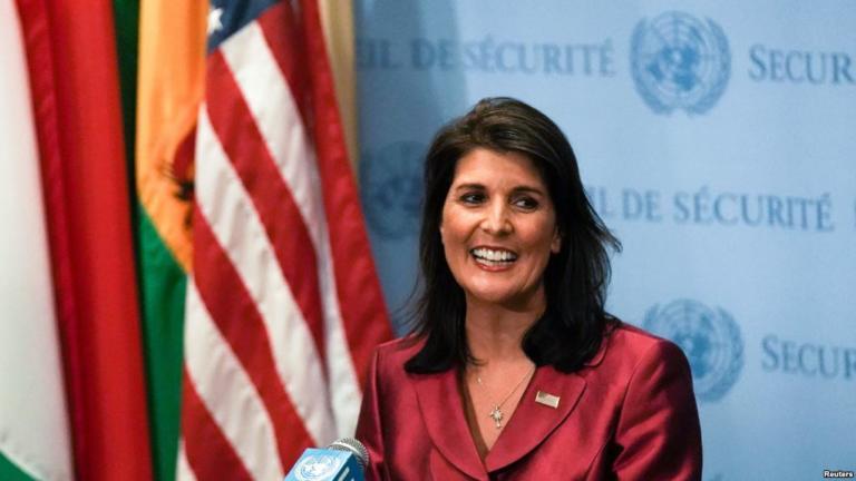 Haley: Trump Destacará éxitos De Política Exterior En La 73º Asamblea General De La ONU.