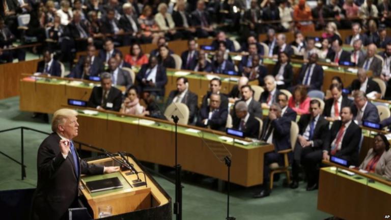 Trump Hablará De La Amenaza Nuclear De Corea Del Norte Ante La ONU.