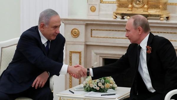 """Benjamín Netanyahu A Vladimir Putin: """"Los Misiles S-300 En Siria Aumentarán Los Peligros En La Región"""""""