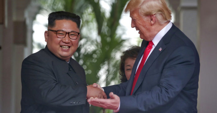 Kim Quiere Celebrar Una Segunda Cumbre Con El Presidente Trump.