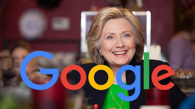 Ejecutivos De Google Trataron De Influenciar A Latinos Para Que Apoyen A Hillary Clinton.