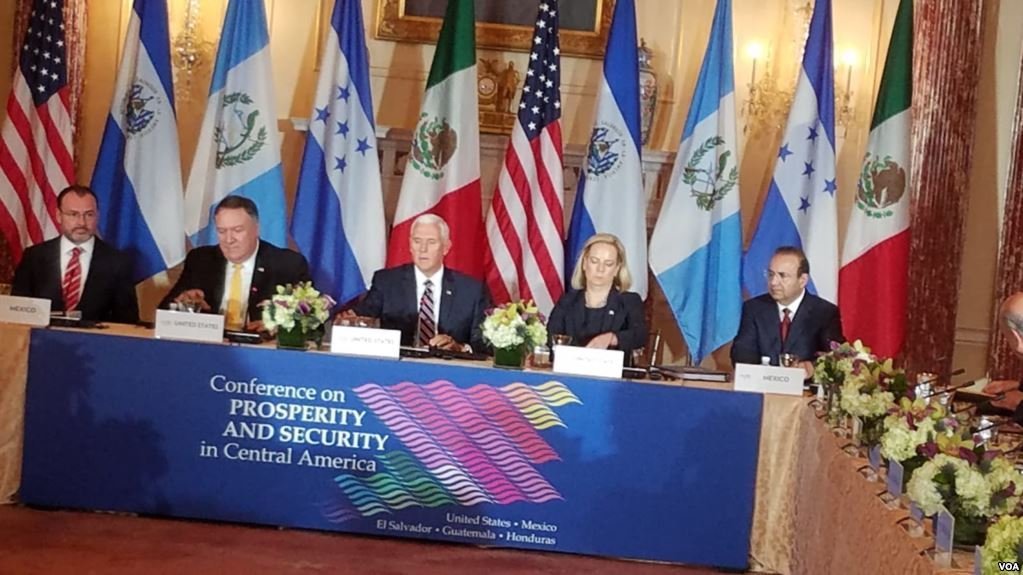Pence Expresa Compromiso De EE.UU. Con Centroamérica.