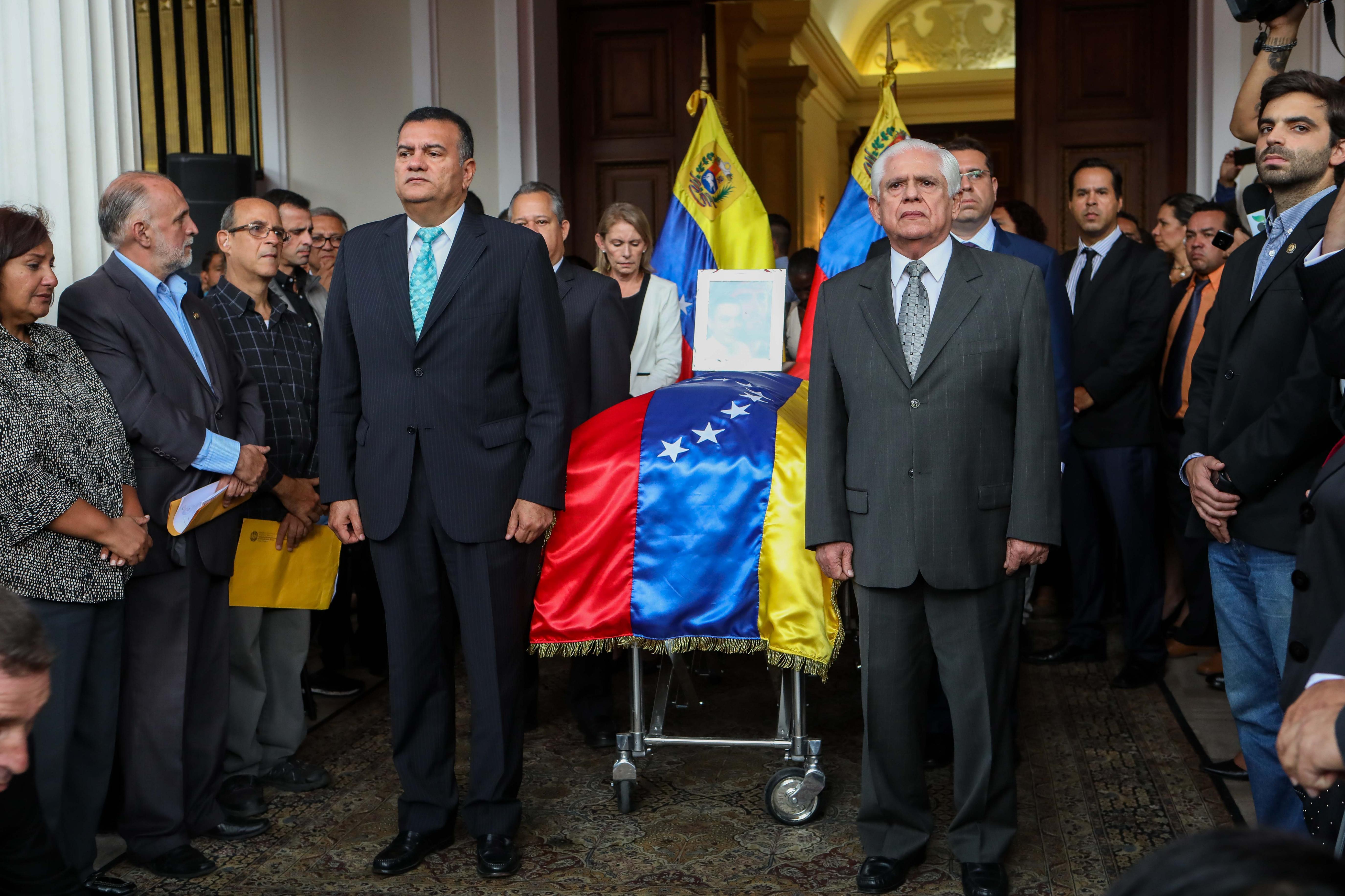 """EEUU Condena """"implicación"""" De Gobierno Maduro En Muerte De Opositor."""