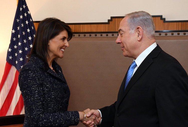 Netanyahu: Haley Luchó A Favor De La Verdad Y La Justicia De Israel.