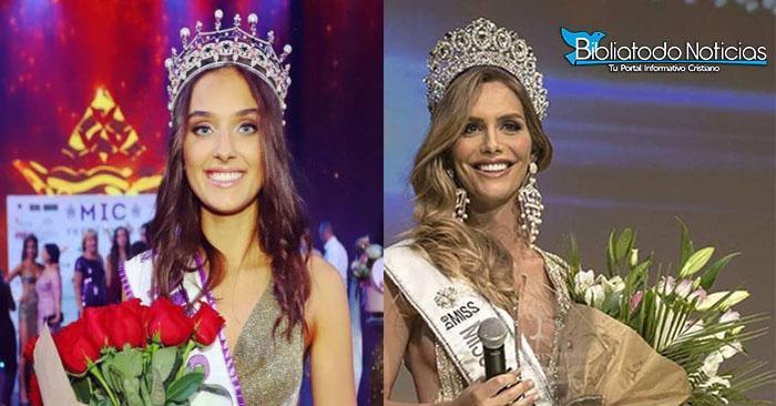 POLÉMICA: Miss Ucrania Vetada Por Ser Madre Mientras Miss España, Concursante Transgénero, Es La Favorita.