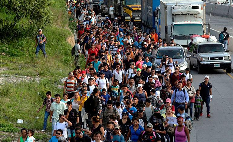 EE.UU. Dice Que Caravana De  Inmigrantes Hondureños Va A Ese País Con Falsas Promesas.