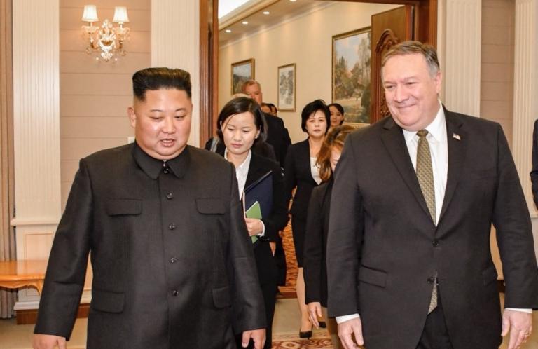 """Mike Pompeo Concluye Visita A Kim Jong-un Y Anunció """"progresos"""" En Los Acuerdos De Desnuclearización."""