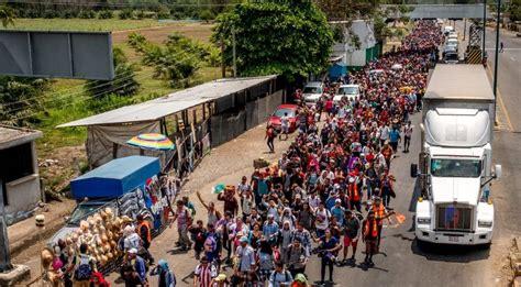 Estados Unidos Enfrenta Otra Marcha De Inmigrantes Ilegales.
