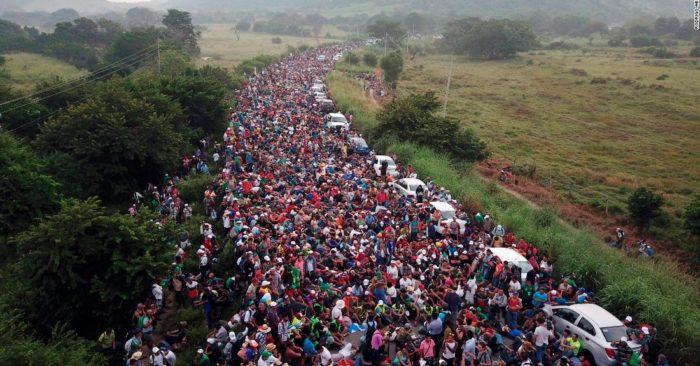 """EE.UU.: """"Hay Personas De Medio Oriente En La Caravana"""" Afirma La Secretaria De Seguridad Nacional"""