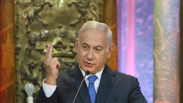 """Benjamin Netanyahu Celebró El Inicio De Las Nuevas Sanciones De EEUU Contra Irán Y Aseguró Que Es Un """"día Histórico"""""""