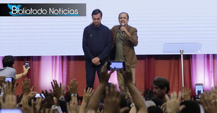 Nuevo Presidente De Brasil Hizo Su Primer Acto Público En Iglesia Evangélica