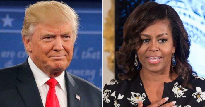 El Presidente Donald Trump Responde A Michelle Obama Por Crítica En Su Libro