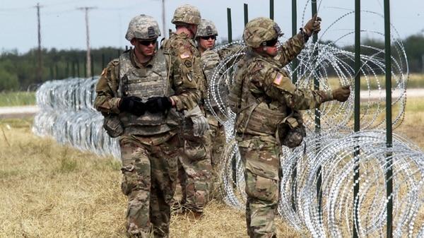 El Ejército De EEUU Anunció Su Retiro De La Frontera Con México A Partir De Los Próximos Días