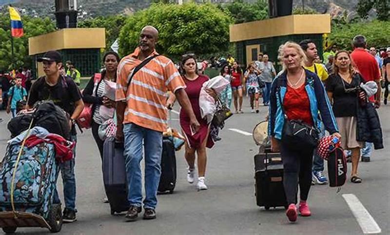 La Crisis Migratoria De Venezuela Ya Superó Los 4 Millones